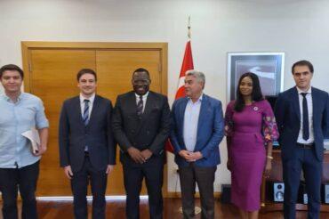 Meeting with the new Turkish ambassador